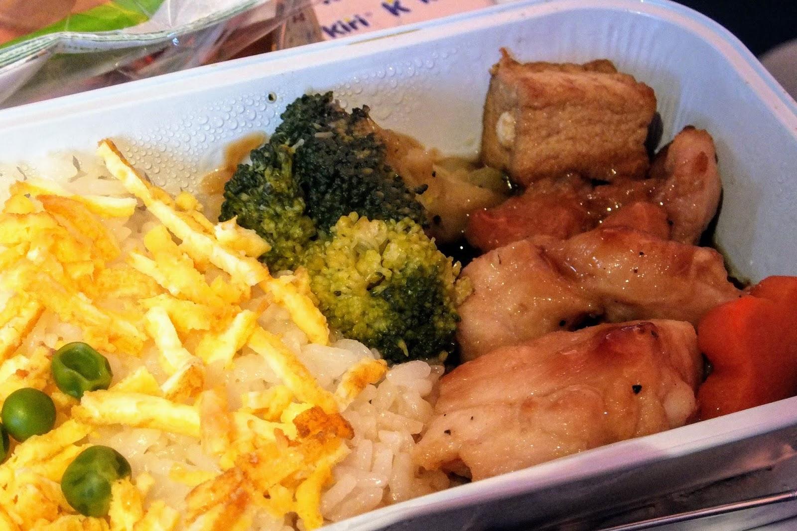 FINAIR A350-900 flight meal no.1 - Japanese