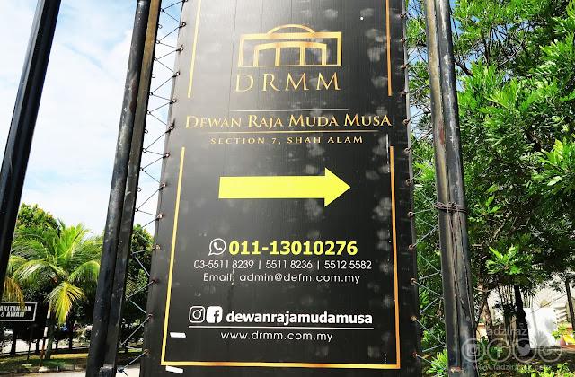 Dewan Raja Muda Musa, Seksyen 7 Shah Alam