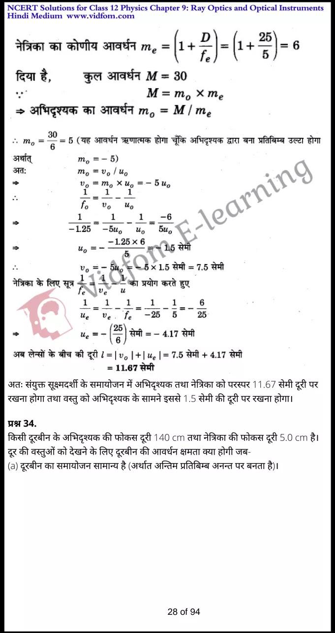 class 12 physics chapter 9 light hindi medium 28