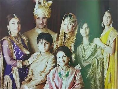 करीना कपूर और सैफ अली खान की शादी की अनदेखी फोटो जो सोशल मीडिया मे वायरल है