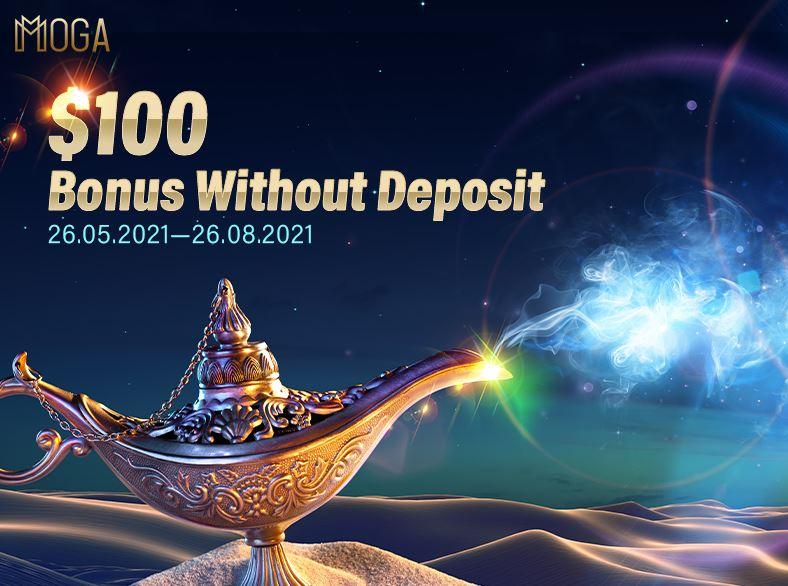 Bonus Forex Tanpa Deposit MogaFX $100