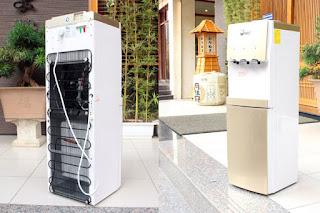 Cây nước nóng lạnh cao cấp 3 vòi fujie wdbd20c chính hãng giá rẻ tại TPHCM