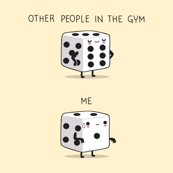 Me In The Gym