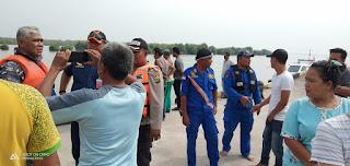 Petugas Tim Gabungan Berhasil Evakuasi Mayat Nelayan