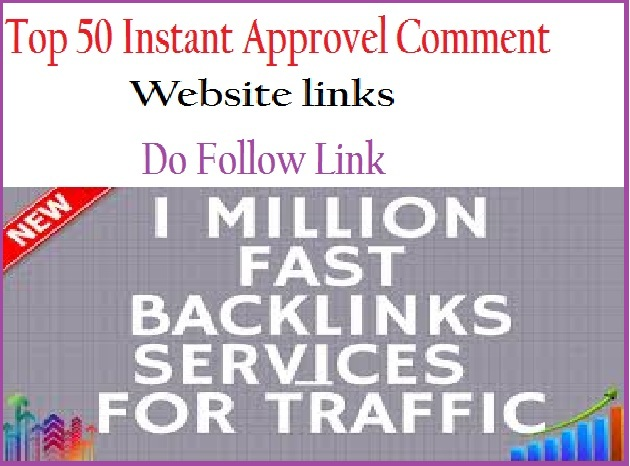 Instant approval  for make powerful back-link site link