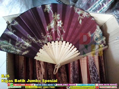 jual Kipas Batik Jumbo Spesial