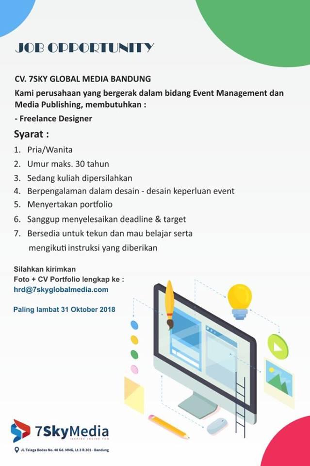 Lowongan Kerja Freelance Di Bandung Lowongan Kerja Terbaru Indonesia 2020