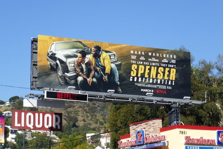 Spenser Confidential film billboard