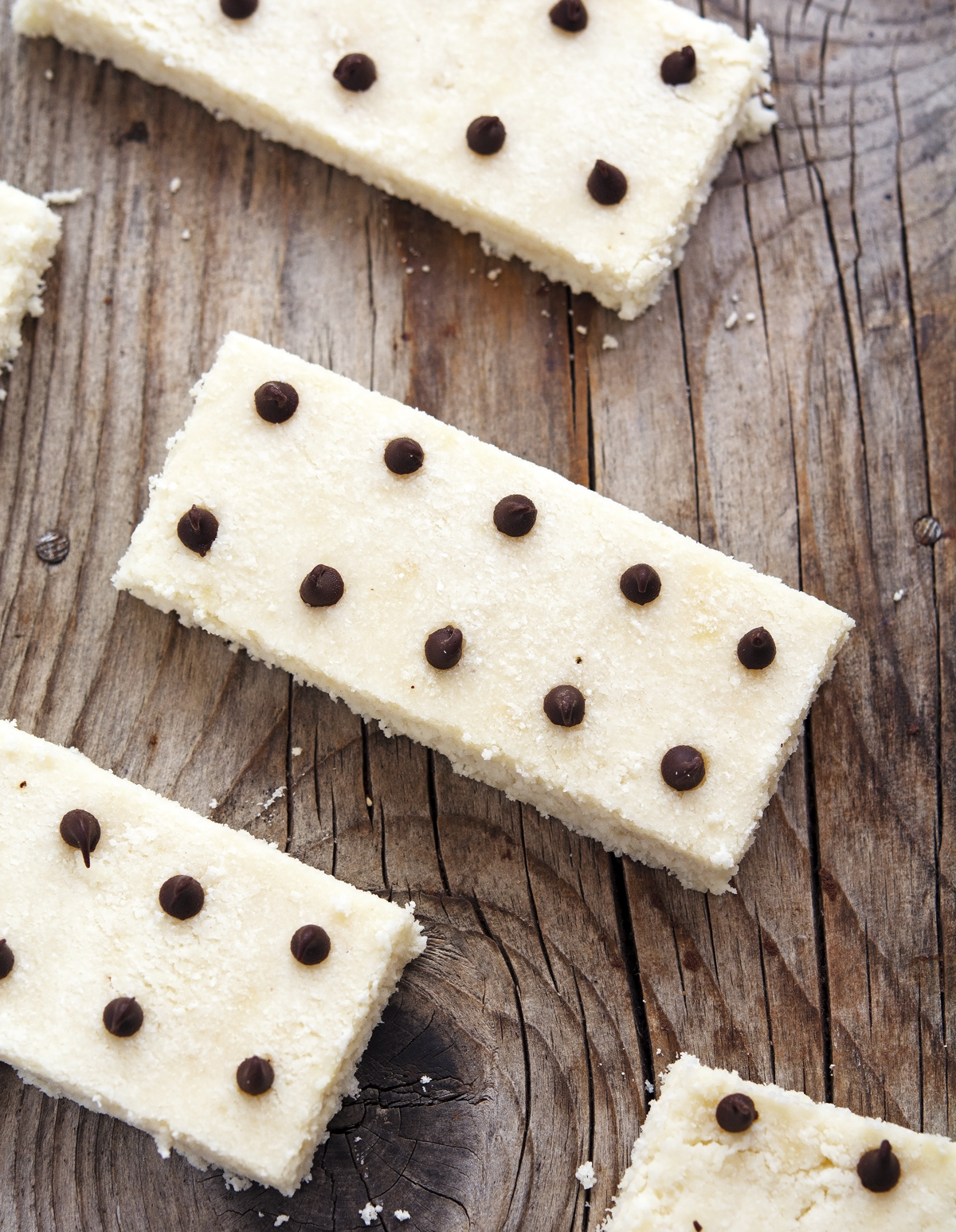 No Bake Coconut Protein Bars