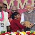 तीन सौ करोड़वीं थाली परोसना सौभाग्य की बात: मोदी   It is good luck to serve three hundred millionth plate: Modi