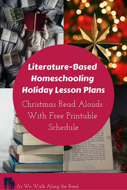 Literature-based homeschool holiday lesson plans