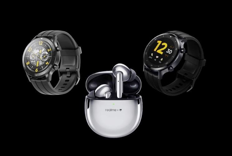 Realme Smart Watch S Series_ Buds Air Pro alunched in india