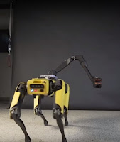 Boston Dynamic's Robot Dog Spot can dance.