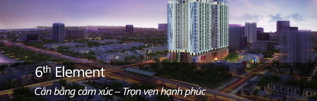 Chung cư 6th element Hoàng Quốc Việt