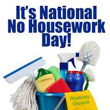 National No Housework Day Wishes Photos