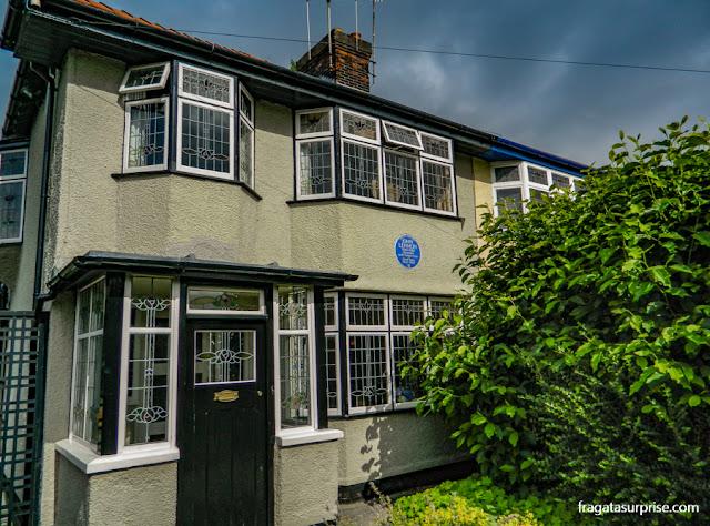 Mendips, a casa de John Lennon em Liverpool, Inglaterra