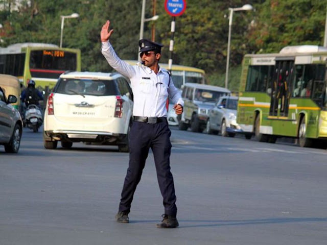 The traffic police paragraph