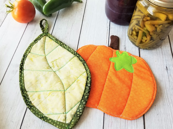 Fall Pot Holder Sewing Pattern