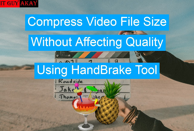 compress or reduce video file size without affecting quality