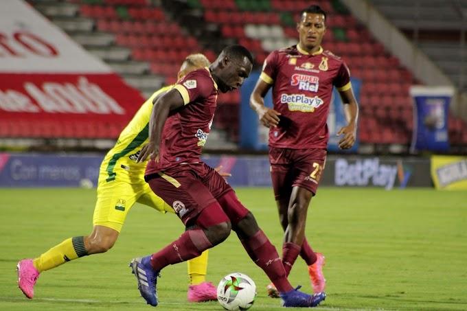 ¡Gris clasificación! En un partido para el aburrimiento, DEPORTES TOLIMA le sacó el empate al Bucaramanga y está en 'Play Offs'