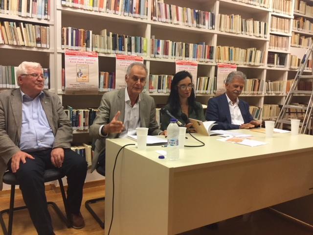 Με απόλυτη επιτυχία η παρουσίαση του βιβλίου του Παν. Τριγάζη «Λαμπράκης – Κύπρος. Κοινή πορεία ειρήνης