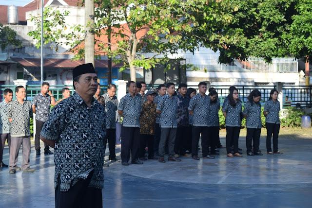 Peringati Hari Lahir Pancasila, SKKK Surakarta Gelar Upacara Bendera