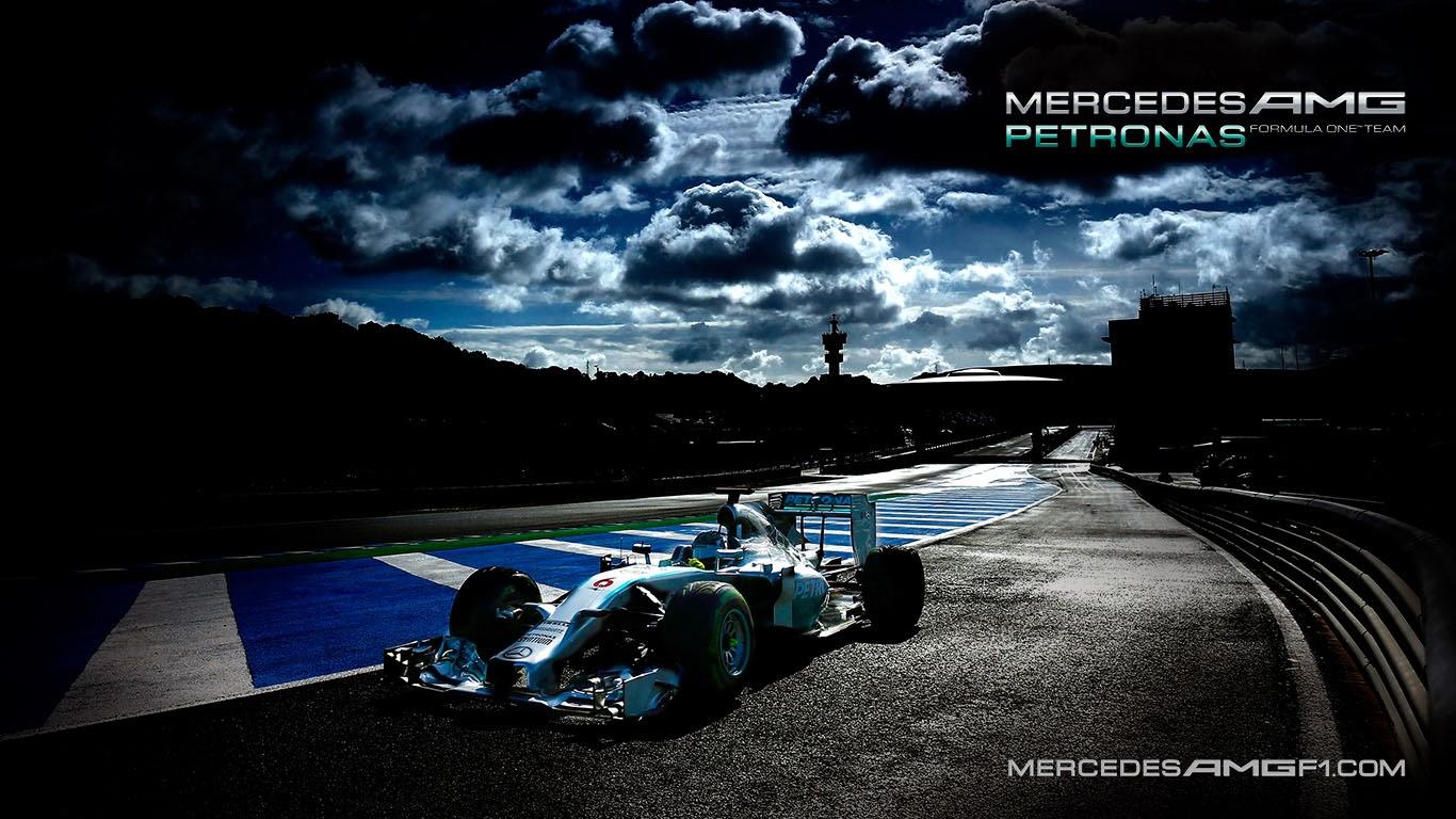 Mercedes AMG Petronas W05 2014 F1 Wallpaper - KFZoom
