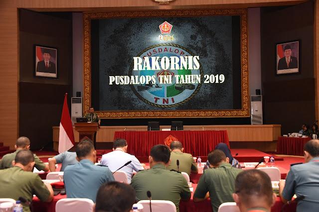 Pusdalops TNI Miliki Peran Strategis Dalam Kesiapan Operasi