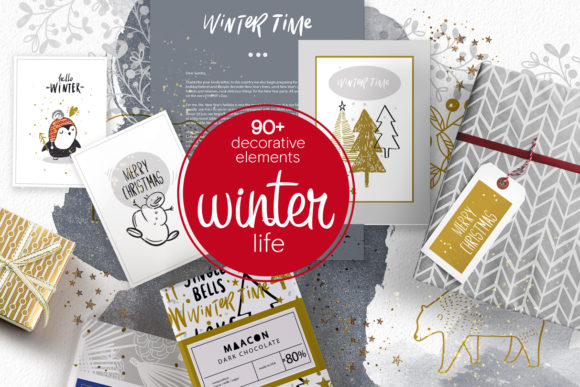 Winter Life Graphics Big Package