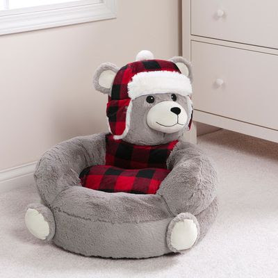 best and newest lovely bean bag plush baby chair with cute characters plush chair