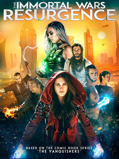 The Immortal Wars: Resurgence [2018] [CUSTOM HD] [DVDR] [NTSC] [Latino]