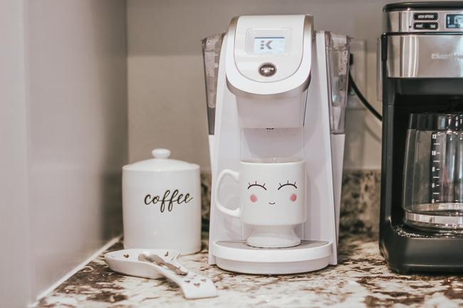 white keurig coffee maker