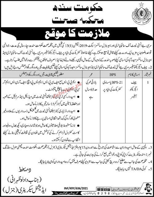 health-department-government-of-sindh-jobs-2021