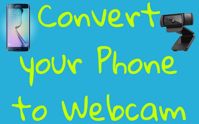 Apne phone ko webcam kaise banaye / Your phone convert to Webcam