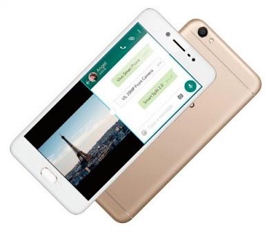 Harga HP Vivo V5 Tahun Ini Lengkap Dengan Spesifikasi Kamera Selfie 20 MP Mengusung Layar 5.5 Inchi