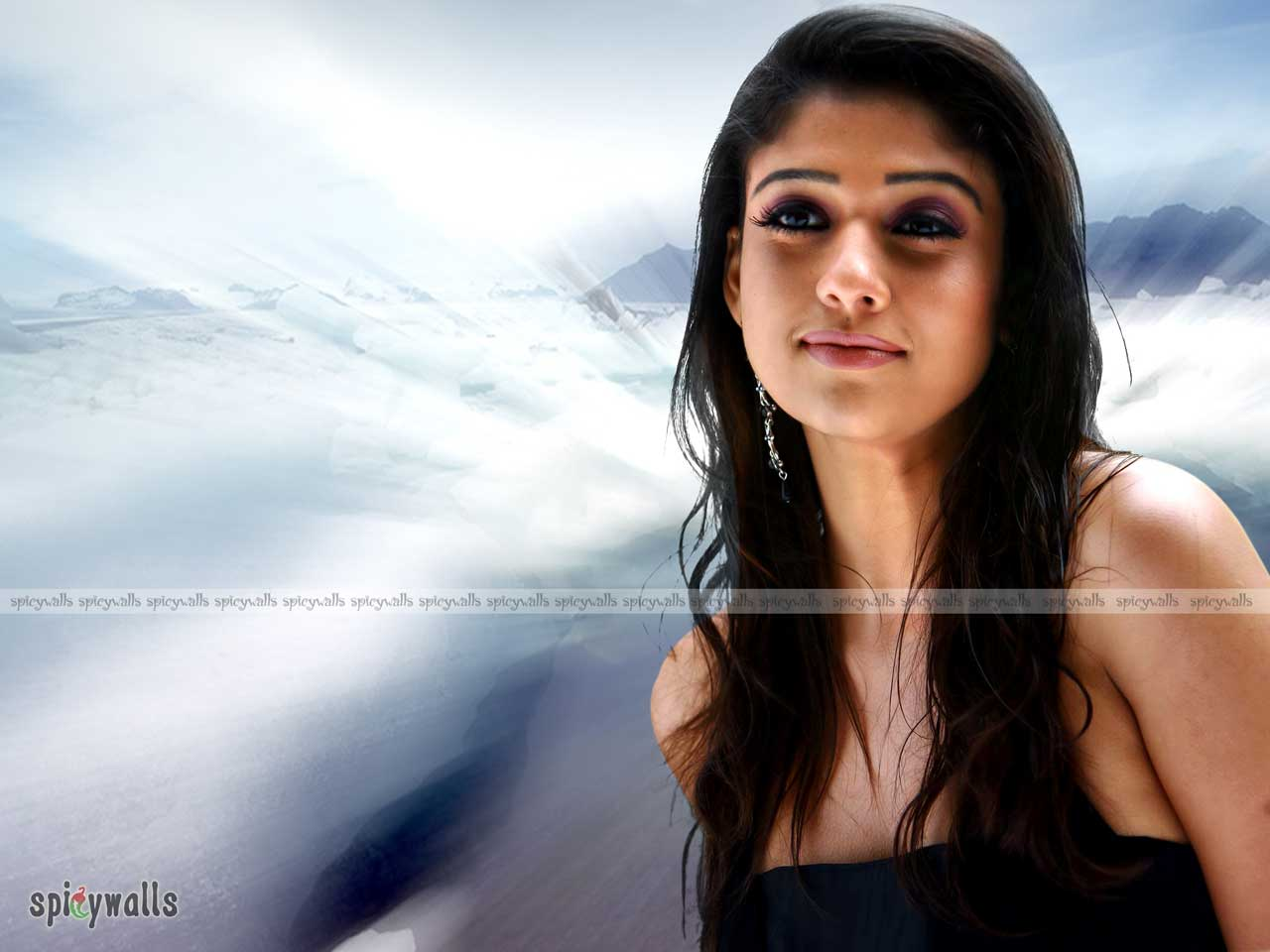 South Indian Actress Nayanthara Hairstyle Picturesbest -9227