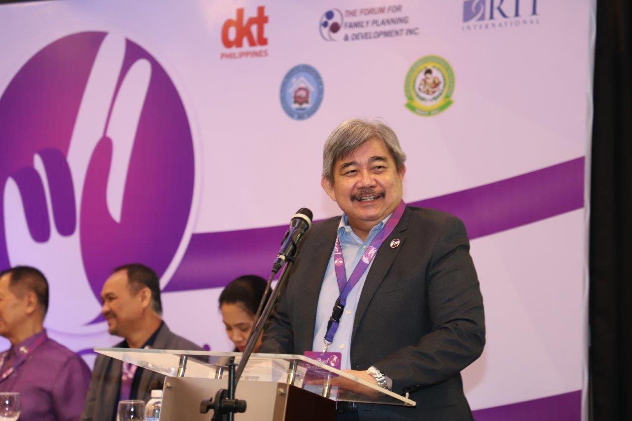 Undersecretary Juan Antonio Perez III, Commission on Population and Development (POPCOM)