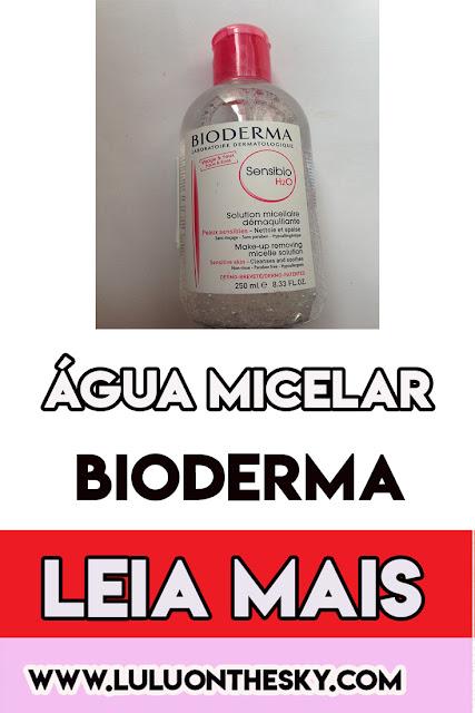 Água Micelar Bioderma Sensibio H20 - Água demaquilante