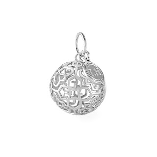 Lisa Hoffman for Origami Owl Silver Fragrance Pendant available at Storied Charms.com