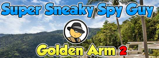 Juegos de Escape - Super Sneaky Spy Guy Golden Arm 2