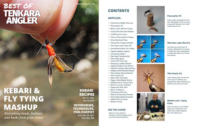 Best of Tenkara Angler: Kebari & Fly Tying Mashup Issue