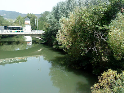 River Arga in Pamplona / Río Arga / Author: E.V.Pita 2012 /