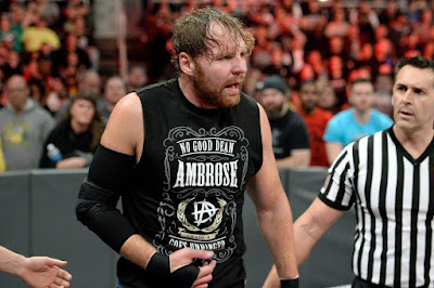 Dean Ambrose Shield Injury Seth Rollins Roman Reigns WWE