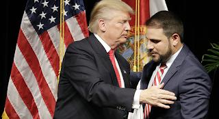 Blog Isla Mía, Cuba Trump con su empleado de Miami para la OEA