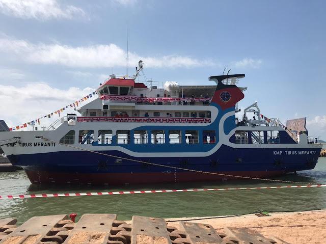 KMP Tirus Meranti Diluncurkan Untuk Melayani Lintas Pecah Buyung – Alai Insit