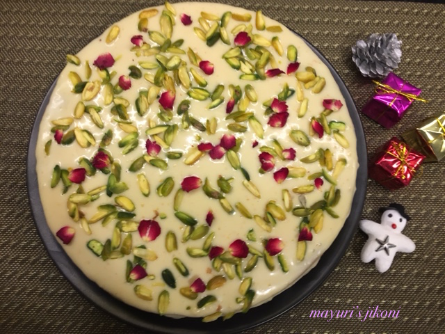 Cake Images With Name Mayuri : Mayuri s Jikoni: 602. Pistachio and Rose Cake