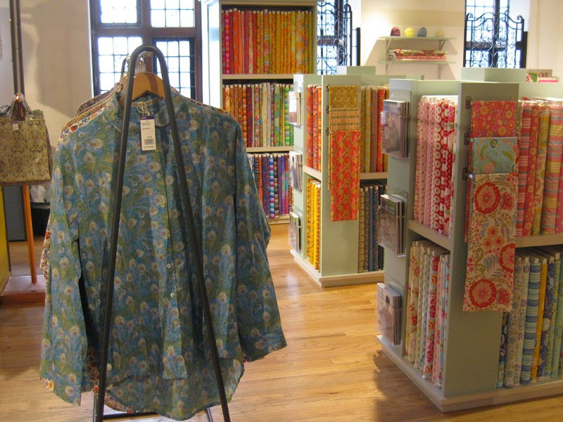 Liberty's shirts and fabrics