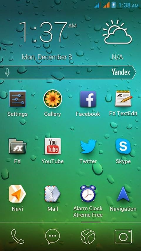 YanDex ROM Kitkat UI