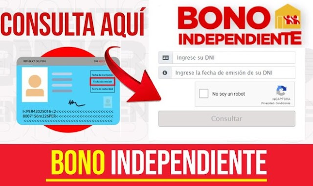 Bono Independencia: Últimos días