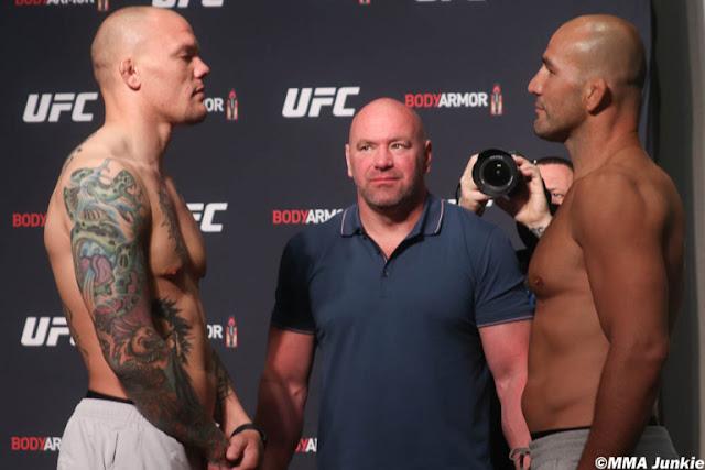 Anthony Smith Glover Teixeira Faceoff UFC on ESPN+ 29